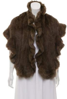 J. Mendel Sable Fur Shawl