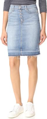 Hudson Remi High Rise Pencil Skirt $195 thestylecure.com