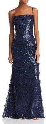 Eliza J Embellished A-Line Gown