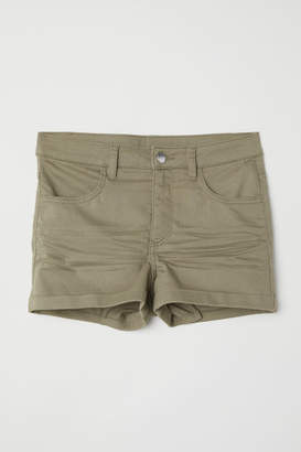 H&M Twill Shorts - Green