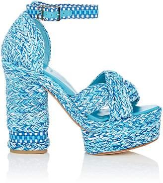 ANTOLINA Women's Aurora Cotton Platform Sandals