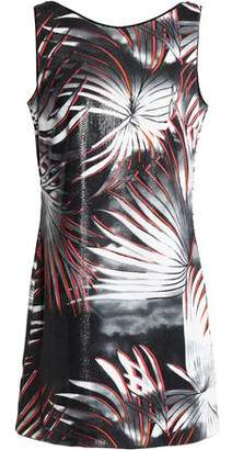 Just Cavalli Sequined Woven Mini Dress