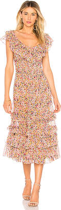 Rebecca Taylor Margo Ruffle Dress