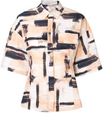 G.V.G.V. brushstroke printed shirt