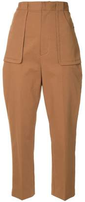 G.V.G.V. stretch slim fit trousers