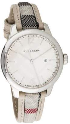 Burberry Classic Round Watch