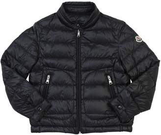 Moncler Acorus Shiny Nylon & Down Jacket