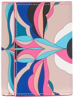 Emilio Pucci tri-fold wallet