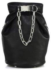 Alexander Wang Washed 2 Dry Sack Leather Crossbody Bag
