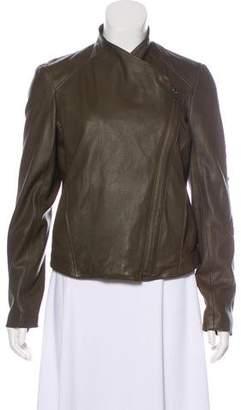 Helmut Lang Lamb Leather Biker Jacket