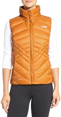 Women's The North Face Aconcagua Down Vest $99 thestylecure.com