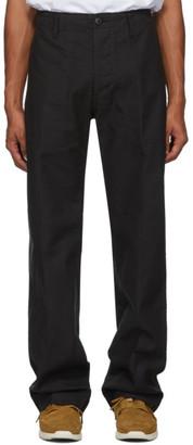 Visvim Black Trade Wind Trousers