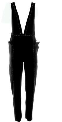 Krasimira Stoyneva - Plunge Black Jumpsuit