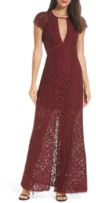 Harlyn Cap Sleeve Lace Gown