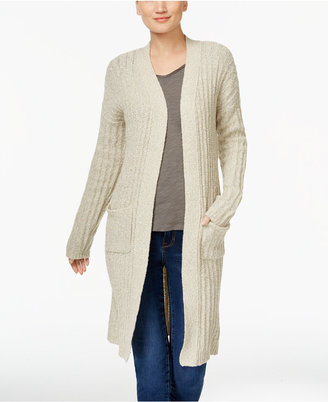 INC International Concepts Open-Front Duster Cardigan, Only at Macy's $89.50 thestylecure.com
