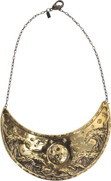 Pamela Love Breastplate Illuminas plastron necklace