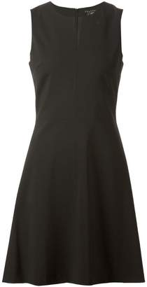 Theory split neck A-line dress