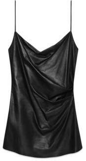 Gucci Leather mini dress