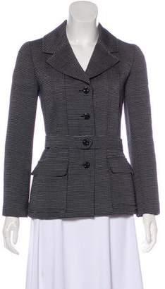 Chanel Striped Wool Jacket