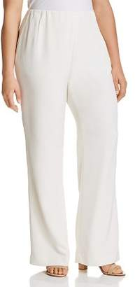 Lafayette 148 New York Plus Stretch-Silk Studio Pants