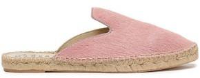 Manebi Dakota Calf Hair Espadrille Slippers