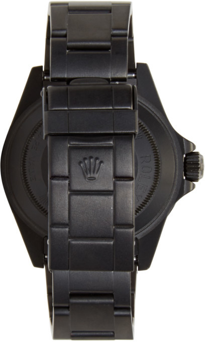 Black Limited Edition Matte Black Limited Edition Rolex Sea Dweller Watch 2