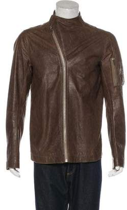 Rick Owens Lambskin Utility Jacket