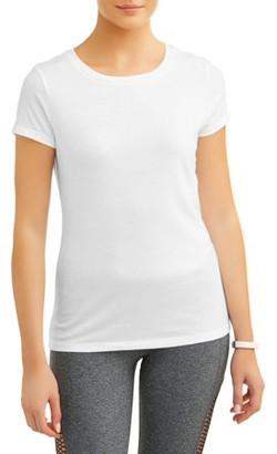 Athletic Works Women's Core Active Crewneck Short Sleeve T-Shirt