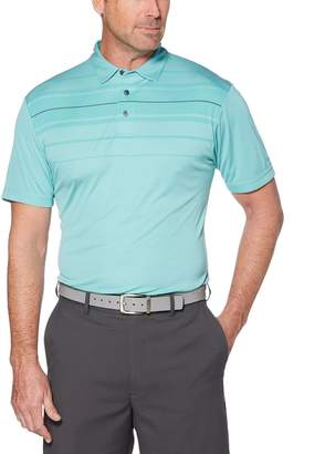 Equipment Men's Grand Slam GS TOUCH Regular-Fit Chest-Striped Performance Golf Polo