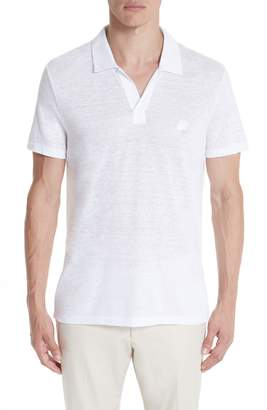Vilebrequin Jersey Linen Johnny Collar Polo