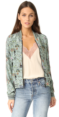 Zadig & Voltaire Billy Circus Reversible Jacket $538 thestylecure.com