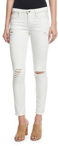 IROIro Jarod Cropped Skinny Jeans, Chalk