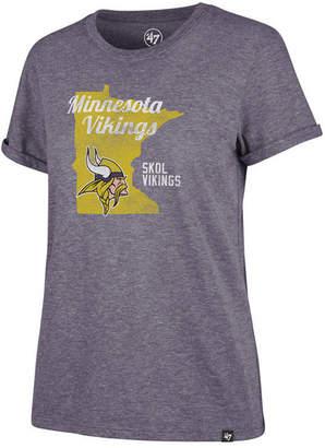 '47 Women Minnesota Vikings State Love T-Shirt