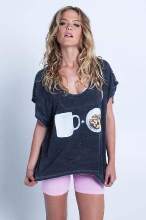 Local Celebrity Coffee + Ciggs Joplin Top in Black