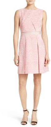 Women's Ted Baker London Fish Print Fit & Flare Dress $349 thestylecure.com