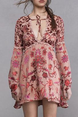 FOR LOVE & LEMONS Saffron Mini Dress $280 thestylecure.com