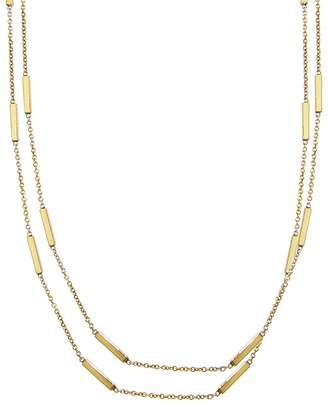 Jennifer Meyer 44 Inch Bar Chain Necklace - Yellow Gold