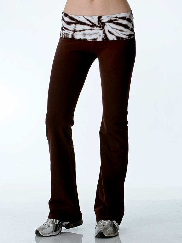 Hard Tail Tie Dye Rollover Legging