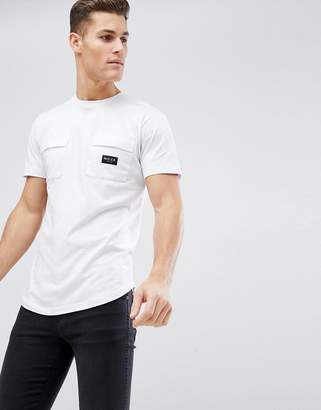 Nicce London t-shirt with double pockets