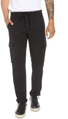 Vince Stretch Linen & Cotton Cargo Pants