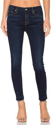 7 For All Mankind The Ankle Released Hem Skinny.
