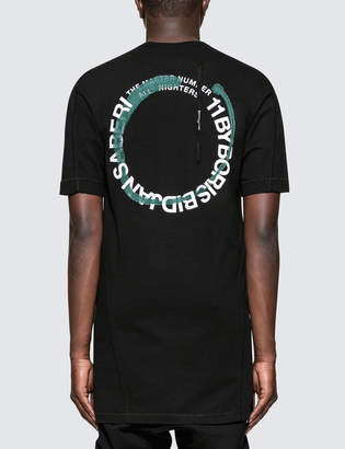 11 By Boris Bidjan Saberi Wheelie S/S T-Shirt