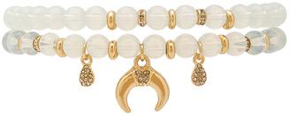 Ettika Beaded Bracelet Set $74 thestylecure.com