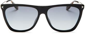 Givenchy Flat Top Square Sunglasses, 57mm