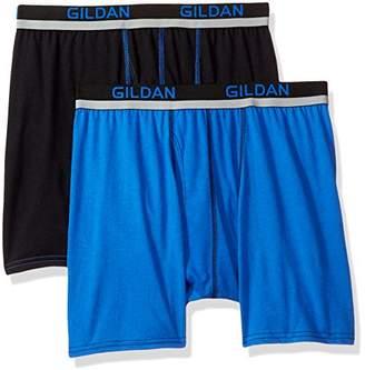 Gildan Men's Active Polyester Boxer Briefs