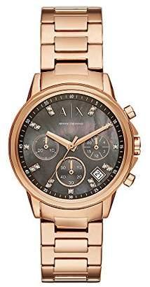 Armani Exchange Women's Quartz Stainless Steel Casual Watch