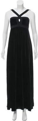 Etro Silk Velvet Dress