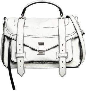 Proenza Schouler Ps1 Tiny Textured-Leather Shoulder Bag