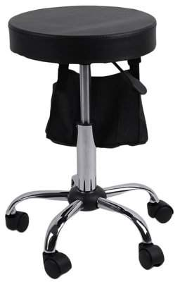 Balance Bar Tattoo Salon Barbers Furniture S15 Adjustable Rolling Swivel Stool Chair