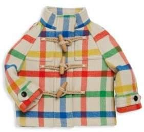 Burberry Baby Girl's& Little Girl's Rosemead Wool Plaid Coat